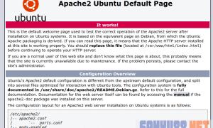 cài đặt và cấu hình Apache trên Ubuntu