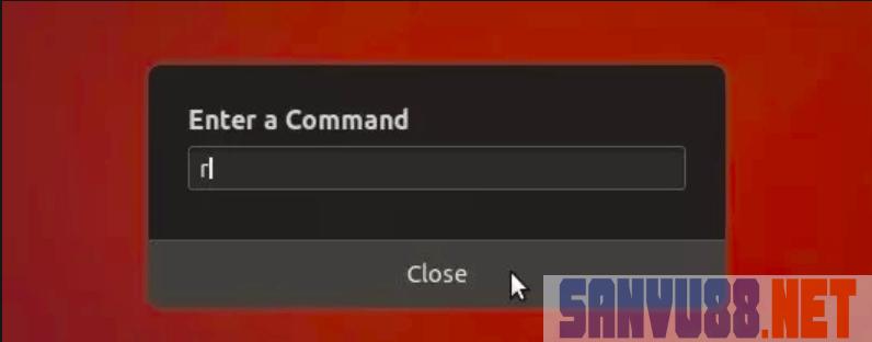 refresh máy tính Ubuntu