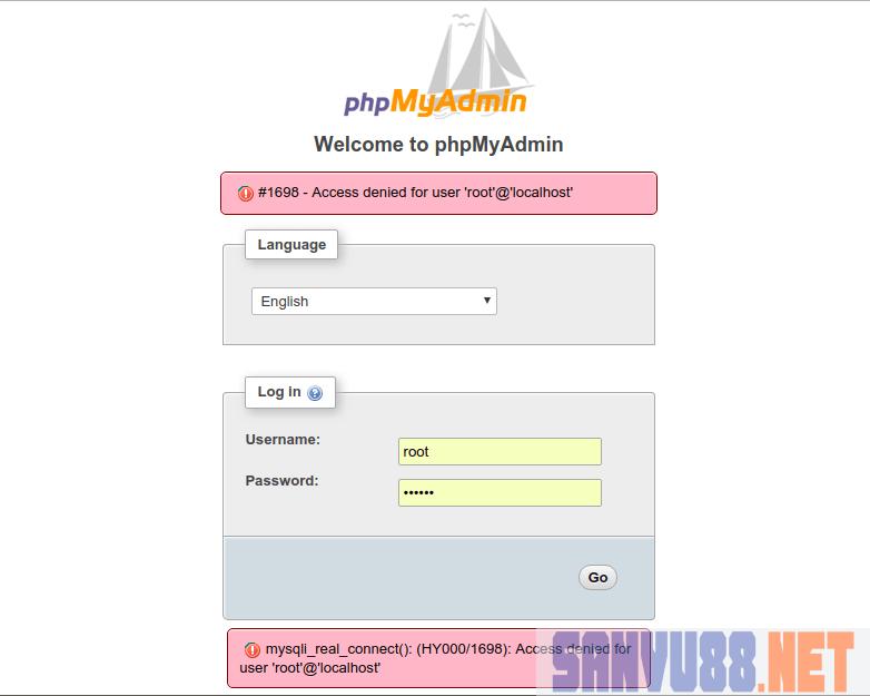 phpMyAdmin trên Ubuntu