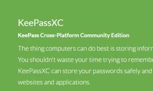 KeePassXC trên ubuntu