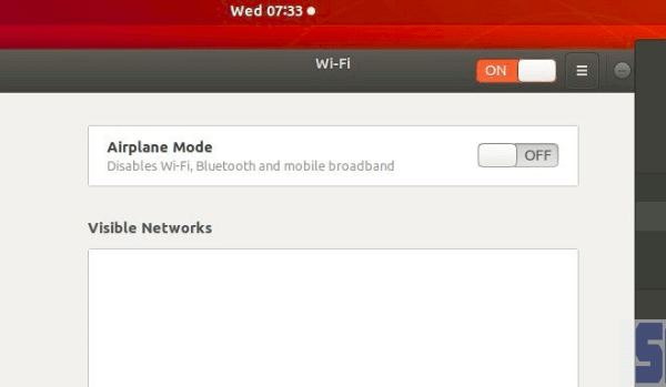 fix lỗi No WiFi Adapter Found