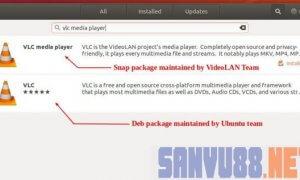 VLC trên ubuntu